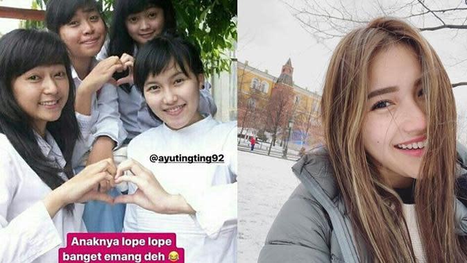 Beda Penampilan 6 Penyanyi Tanah Air Saat SMA Vs Kini, Bikin Pangling (sumber: Instagram.com/ayutingting92)