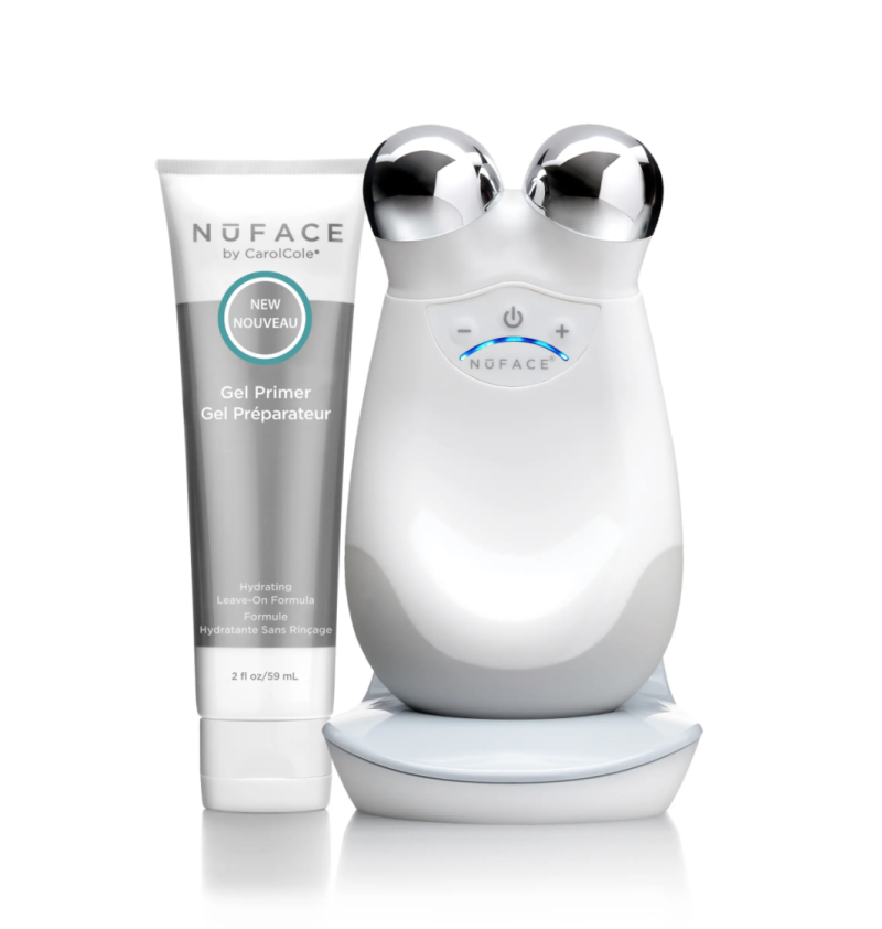 NuFace Trinity Facial Toning Device. Image via Nordstrom.
