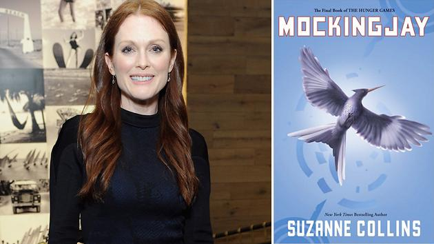 Julianne Moore Sworn Into Presidential Role in Two-Part 'The Hunger Games: Mockingjay'
