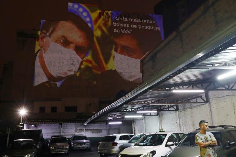 Brazil's Sao Paulo braces for two-week coronavirus shutdown, Bolsonaro blasts 'hysteria'