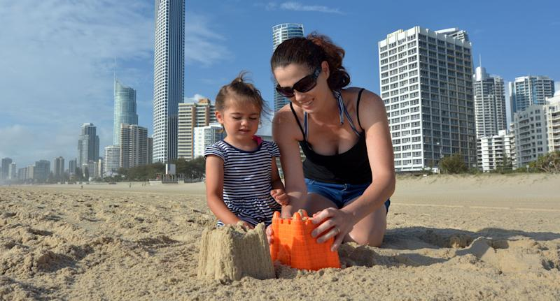 The warmer weather means many people will hit the beach including the Gold Coast these September 2018 school holidays.