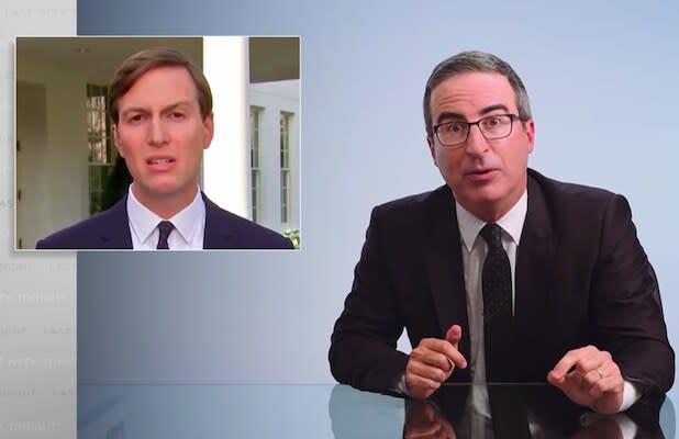 John Oliver Rips 'America's Most-Laminated Prince' Jared Kushner for 'Infuriating' Reaction to NBA Strike (Video)