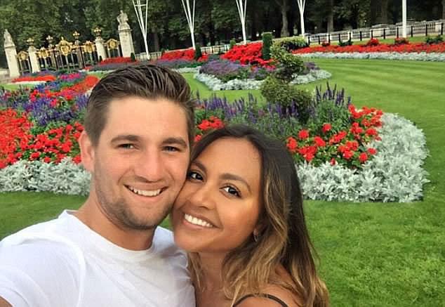 Jessica Mauboy and Themeli Magripilis smile for the camera