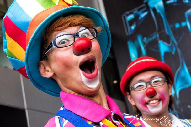 Grand Prix clowns: Flickr photo of the day