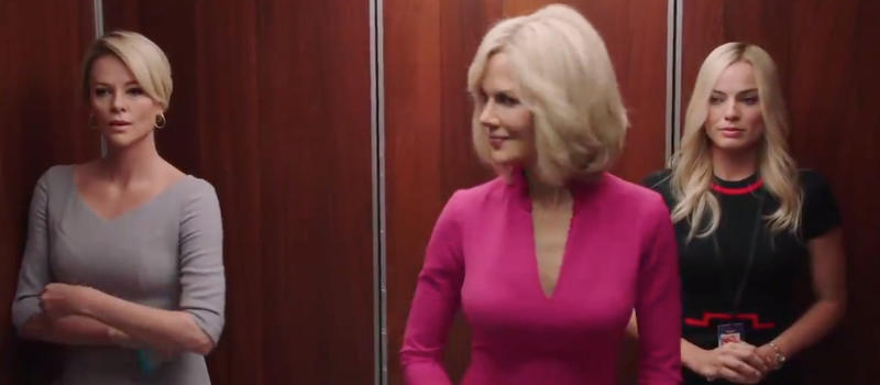 Charlize Theron, Nicole Kidman and Margot Robbie have stunned audiences in the teaser for Bombshell. Photo: Lionsgate