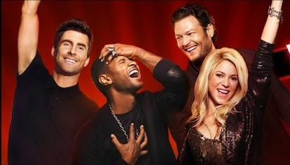 'The Voice' Season 4 Premiere: Shakira & Usher Come To Compete