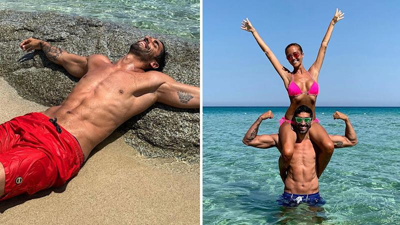 Filippo Magnini saves newlywed from drowning on honeymoon