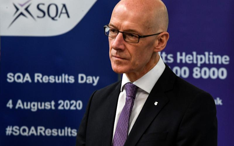 Deputy First Minister of Scotland and Cabinet Secretary for Education and Skills John Swinney - Getty Images Europe