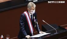 捷克議長中文說我是台灣人 全場鼓掌
