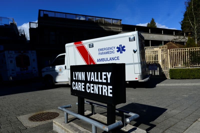 The Lynn Valley Care Centre, a seniors care home named as the site of a coronavirus outbreak in North Vancouver
