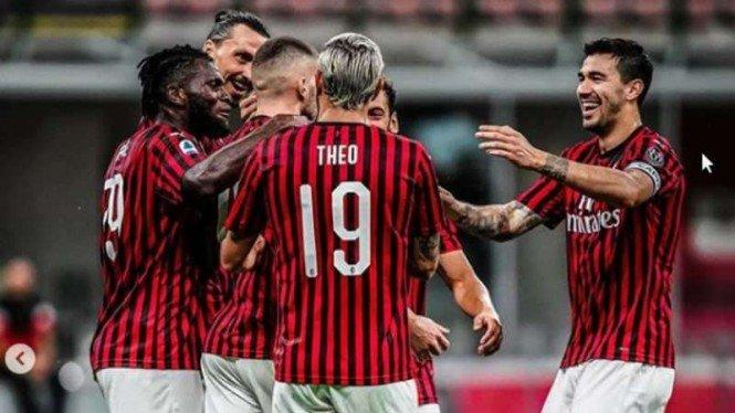 Kunci Sukses AC Milan Begitu Perkasa Usai Jeda COVID-19