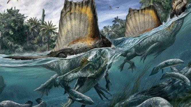 Predator Terbesar di Muka Bumi Ini Ternyata Pandai Berenang