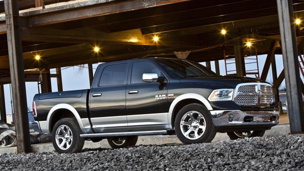 2013 Ram 1500 pickup hauls in more power with less gas