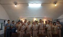 海軍通信系統指揮部參訪海軍軍史館 傳承先烈精神