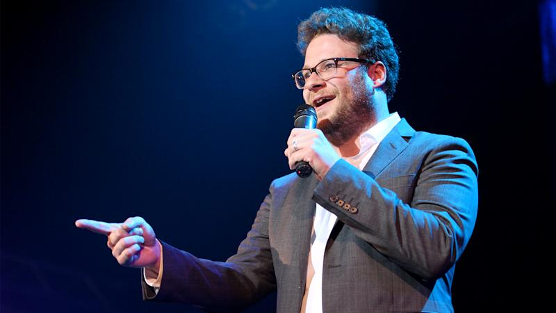 Seth Rogen is the Roast Master for James Franco Roast