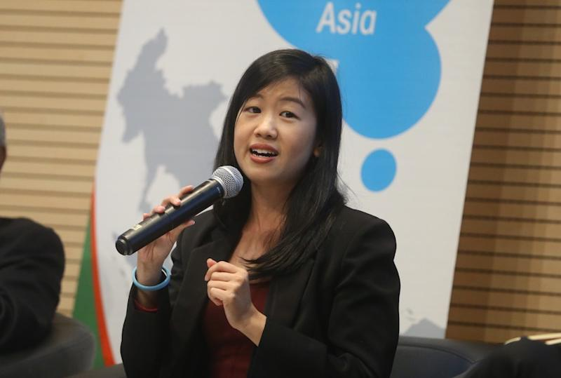 Lim Yi Wei attends a forum at Sunway University in Petaling Jaya July 9, 2018. — Picture by Zuraneeza Zulkifli