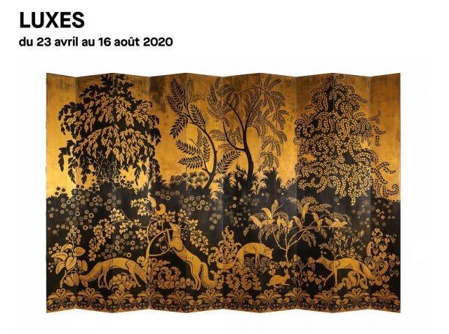'Luxes' at the Musée des Arts Décoratifs in Paris, from April 23 to August 16, 2020