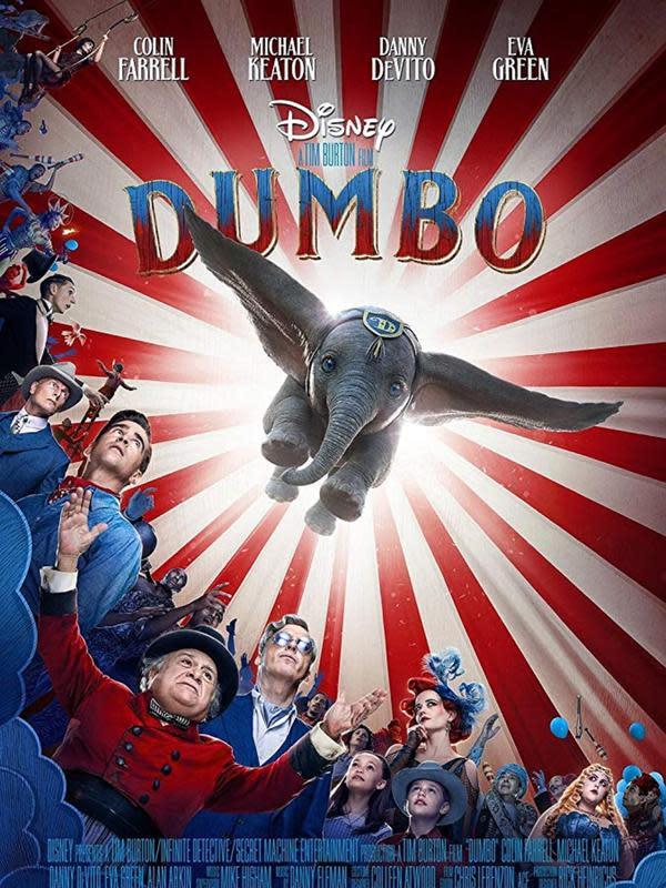 Poster film Dumbo (Disney)
