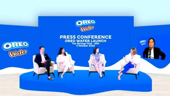 Konferensi Pers Oreo Wafer Launch (dok. Liputan6.com/ Brigitta Bellion).