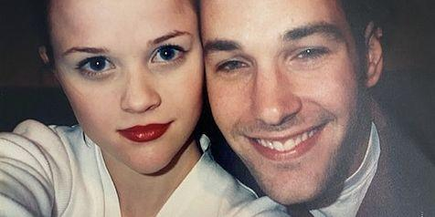Reese Witherspoon Posted a 1996 Selfie With Paul Rudd, and They Still Look the Same Now