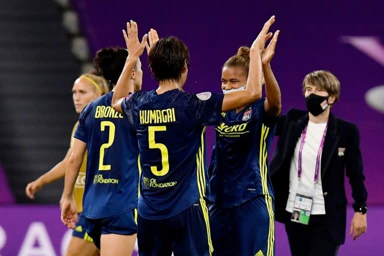 Holders Lyon, PSG set-up all-French Women's Champions League semi-final