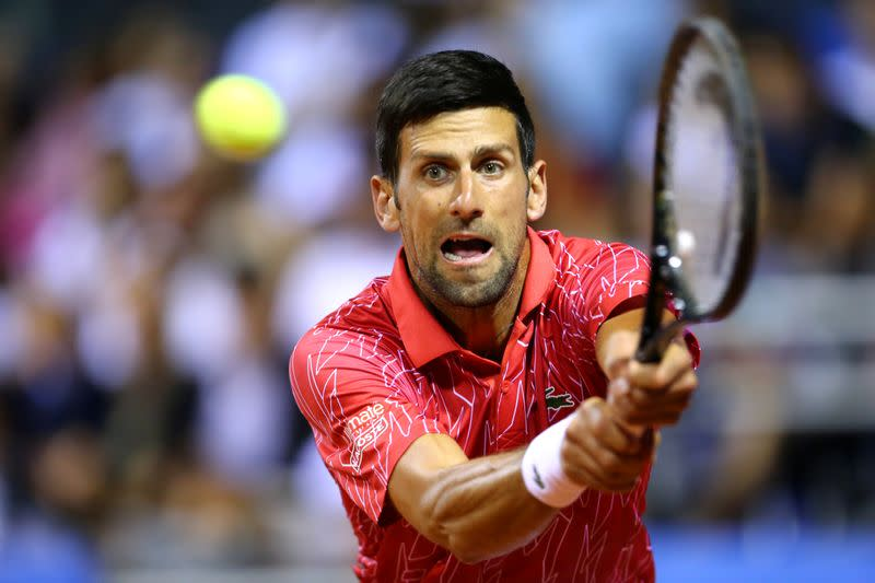 Djokovic reaches final of own exhibition tournament