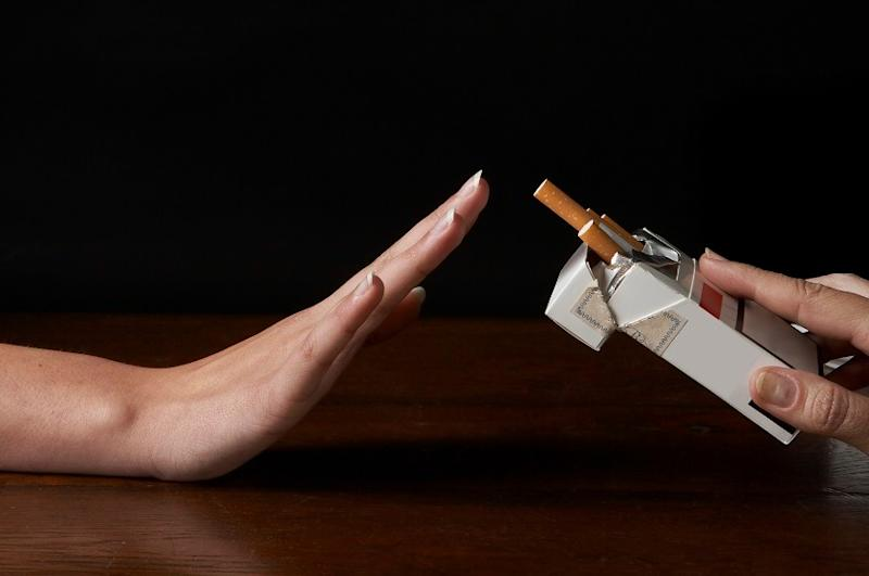 Exposure to cigarettes from an early age is one of the main contributing factors. — AFP pic