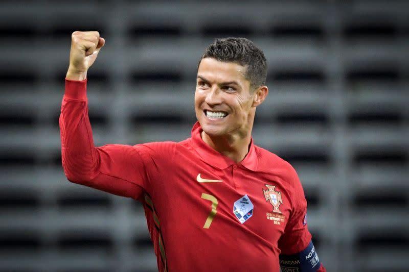 Soccer: Ronaldo scores 100th goal for Portugal