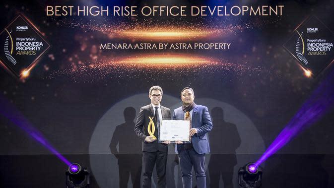 Best High Rise Office Development dimenangkan oleh Menara Astra dari ASTRA Property