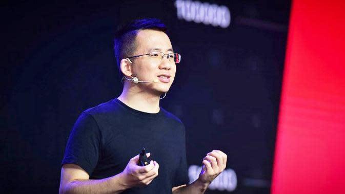Zhang Yiming, Founder dan CEO Bytedance Ltd. Dok: medium.com