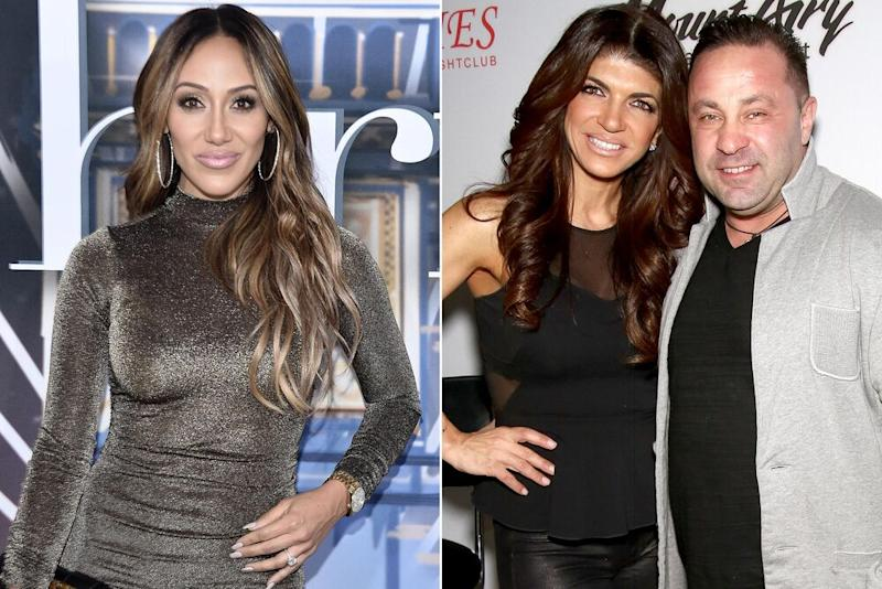 Melissa Gorga, Teresa Giudice and Joe Giudice | Steven Ferdman/WireImage; Paul Zimmerman/Getty