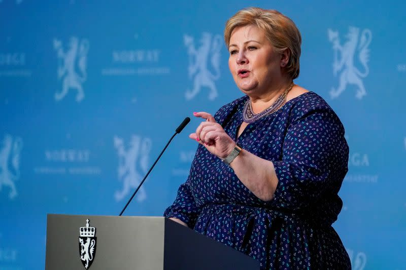 Norway must slow down rises in virus cases now, says PM