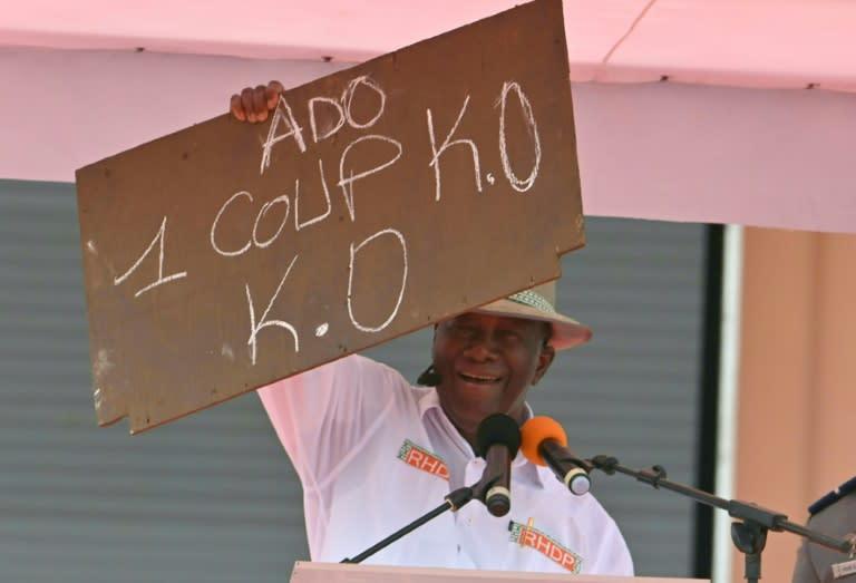Violence as party chooses ICoast president Ouattara to run again