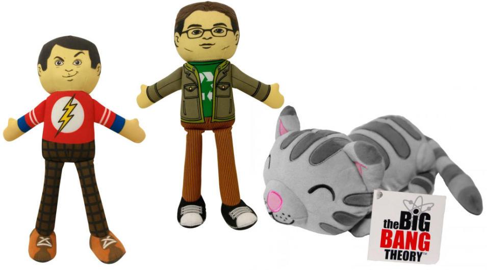 """The Big Bang Theory"" -- Sheldon, Leonard and Singing Soft Kitty Dolls"