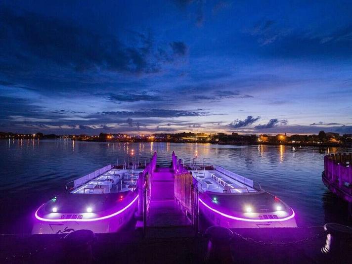 台南運河遊船:媲美塞納河