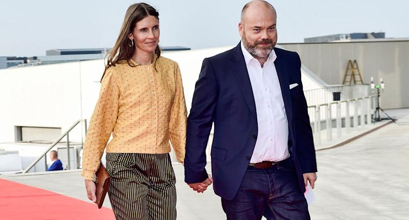 Anders Holch Povlsen and his wife, Anne, photographed in May 2018. Source: Getty