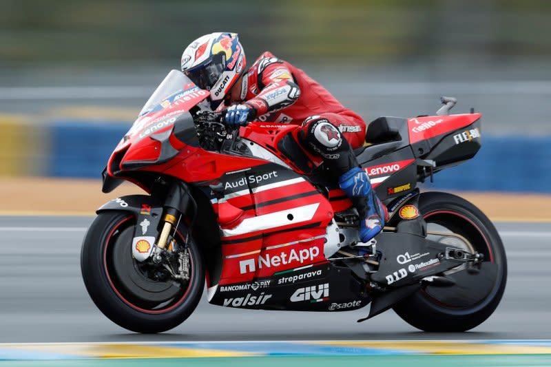 Dovi ungkap penyebab Ducati melempem di sesi latihan MotoGP Aragon