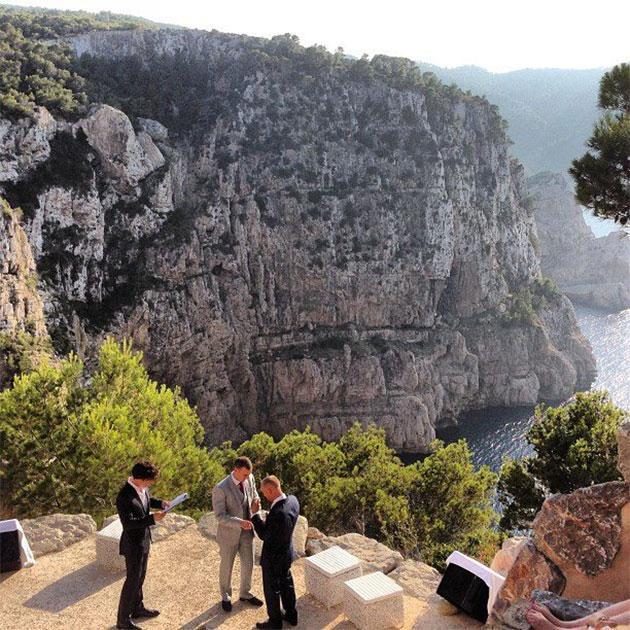 Benedict Cumberbatch gets ordained, performs wedding ceremony in Ibiza