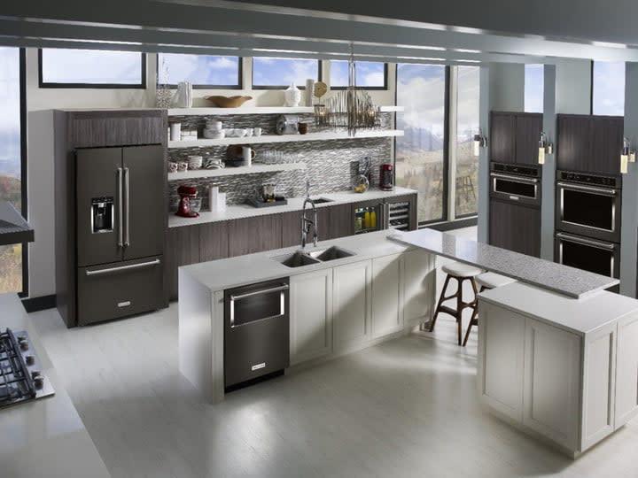 KitchenAid appliance suite