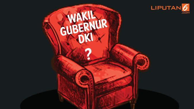 Banner Kursi Wagub DKI Jakarta (Liputan6.com/Triyasni)
