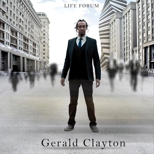 """This CD cover image released by Concord Jazz shows """"Life Forum,"""" by Gerald Clayton. (AP Photo/Concord Jazz)"""
