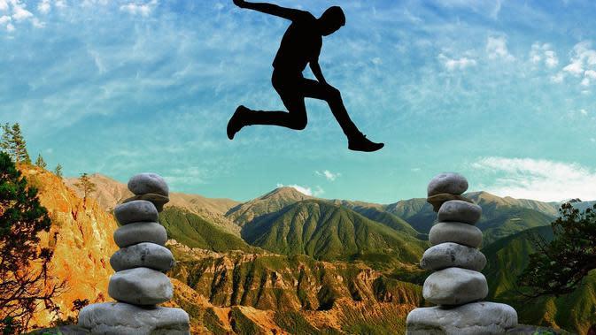 Ilustrasi semangat, motivasi. (Gambar oleh Gerd Altmann dari Pixabay)