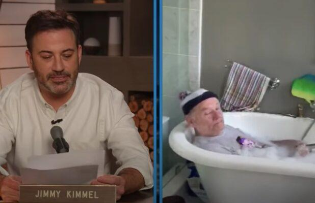 Bill Murray Gives Quirky Quarantine Advice From His Bubble Bath (Video)