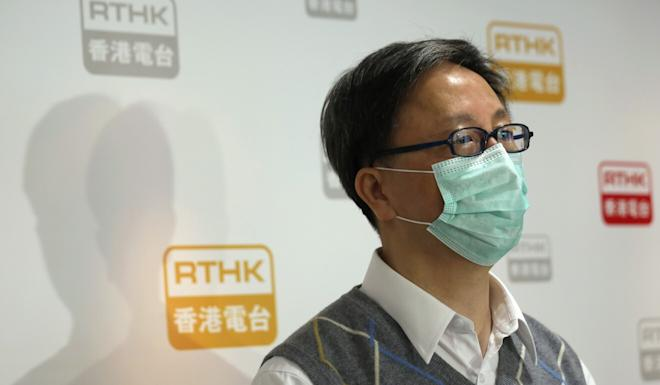 Dr Ho Pak-leung said Hongkongers should not frighten themselves over the fact that recent cases included workers at a food warehouse. Photo: Xiaomei Chen