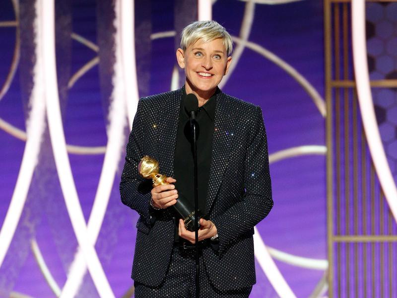 電視類終身成就獎:艾倫狄珍妮