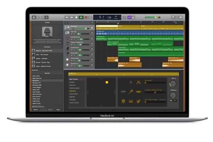 GarageBand Apple Press photo