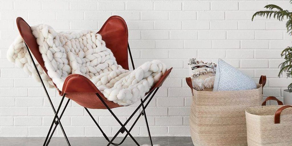 """<p>What is it about chunky knit blankets that spark so much joy? These <a href=""""https://www.thespruce.com/what-is-scandinavian-design-4149404"""" target=""""_blank"""">Scandinavian-inspired layers</a> function as tangible art pieces by virtue of their overly plush, textured design and unbelievably cozy feel. Available in a wide variety of sizes, colors, and patterns, check out these 10 chunky knit blankets, and prepare to never leave your couch.</p><p>Pro tip: Most of these throws shouldn't be thrown in the wash to clean — drop them off at the dry cleaner instead.</p><hr><p><strong><em>From deals on home goods to detailed plans on how to paint your next room with math, Pop Mech Pro gives you all the tools you need to design the perfect living space.</em></strong></p><p><a class=""""body-btn-link"""" href=""""https://join.popularmechanics.com/pubs/HR/POP/POP1_Plans.jsp?cds_page_id=250088&cds_mag_code=POP&cds_tracking_code=edit_bestcta_chunky-knit-blankets"""" target=""""_blank""""><strong><em></em></strong>Learn More!</a></p><hr>"""