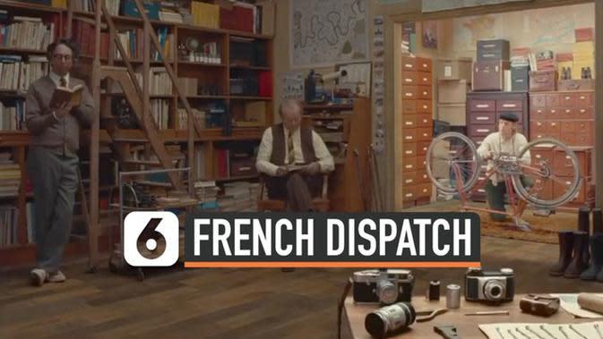 VIDEO: Trailer Perdana The French Dispatch Rilis