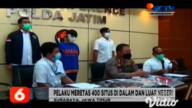 VIDEO: Polisi Ringkus Dua Peretas Situs Resmi KPU Jember
