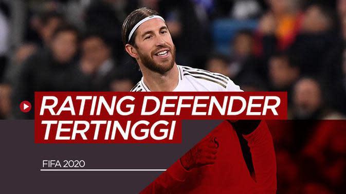 VIDEO: Rating Defender Tertinggi di FIFA 20